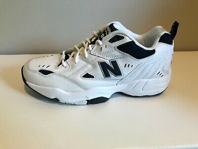 New Balance 608 White W / Navy Trim Athletic Sneakers Shoes Men