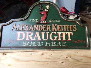 Alexander Keith's sign