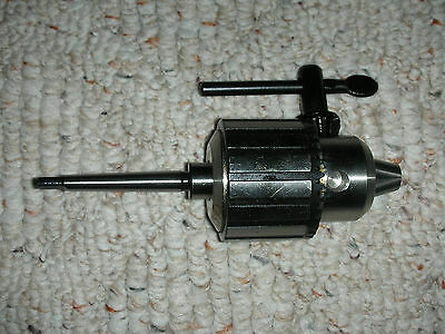 New Atlas Craftsman Dunlap 109 Lathe 12 Capacity Drill Chuckkey 0 Mt Shank
