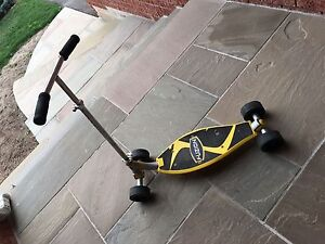 Fusion Sport 4-wheel carving scooter
