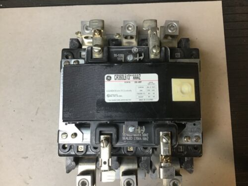 General Electric GE CR360L613**AAAZ Lighting Contactor 200 Amp W/ 120V Coil