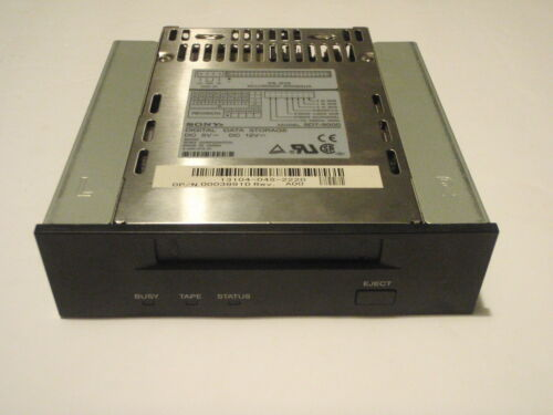 SONY SDT-9000 TAPE DRIVE DDS-3 12/24GB / SDT9000 SCSI VINTAGE