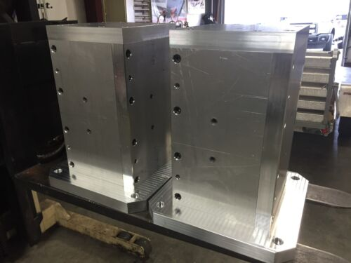 "PAIR 15.750"" x 10.750""x20""-400mm Workholding Horizontal CNC Tombstone Fixtures."
