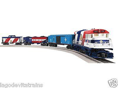 6-82427 The Patriot LionChief Diesel Freight Train Set - LIONEL Diesel Freight Train Set