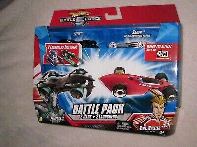 Hot Wheels Battle Force 5 Battle Pack Zelix and Saber
