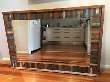 Beautiful Rustic Timber Mirror Yagoona Bankstown Area Preview
