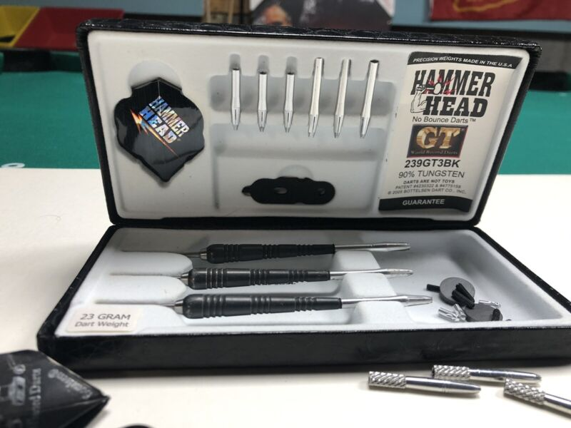 Hammerhed GT3 23 gram darts, Fixed points