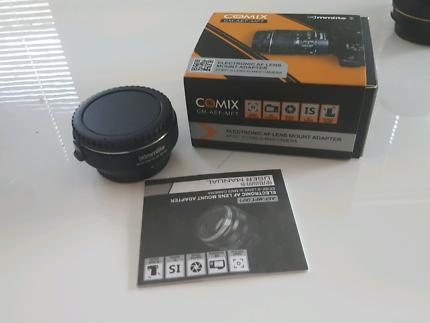 Commlite electronice AF EF/EFS lens to M4/3 Lens mount adapter
