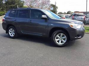 2008 Toyota Kluger Wagon KXR Heidelberg Heights Banyule Area Preview