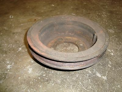 Ford Tractor Industrial Hd Engine Crankshaft Pulley Single Belt D3jl6a312a