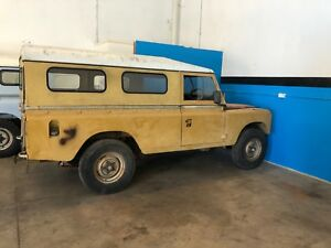 Land Rover Series 3 Stage one V8