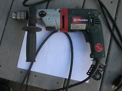 Metabo Sbe 7512s-rl  12in. Hammer Drill  6.2 Amps