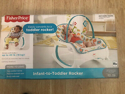 Infant Toddler Rocker Geo Diamonds Colorful Best Seat Baby Chair (Best Portable Infant Swing)