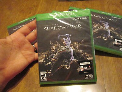 Middle Earth  Shadow Of War Xbox One Brand New Factory Sealed