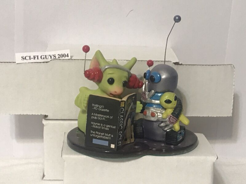 """Sci-Fi Guys"" World Of Pocket Dragons Hummel Goebel Collectibles NO BOX"