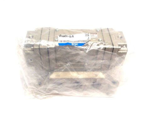 SMC VPA4450-06-N 5 Port Air Pilot Valve 3 Position 3/4 Inch Port NPT 0.2~1 Mpa