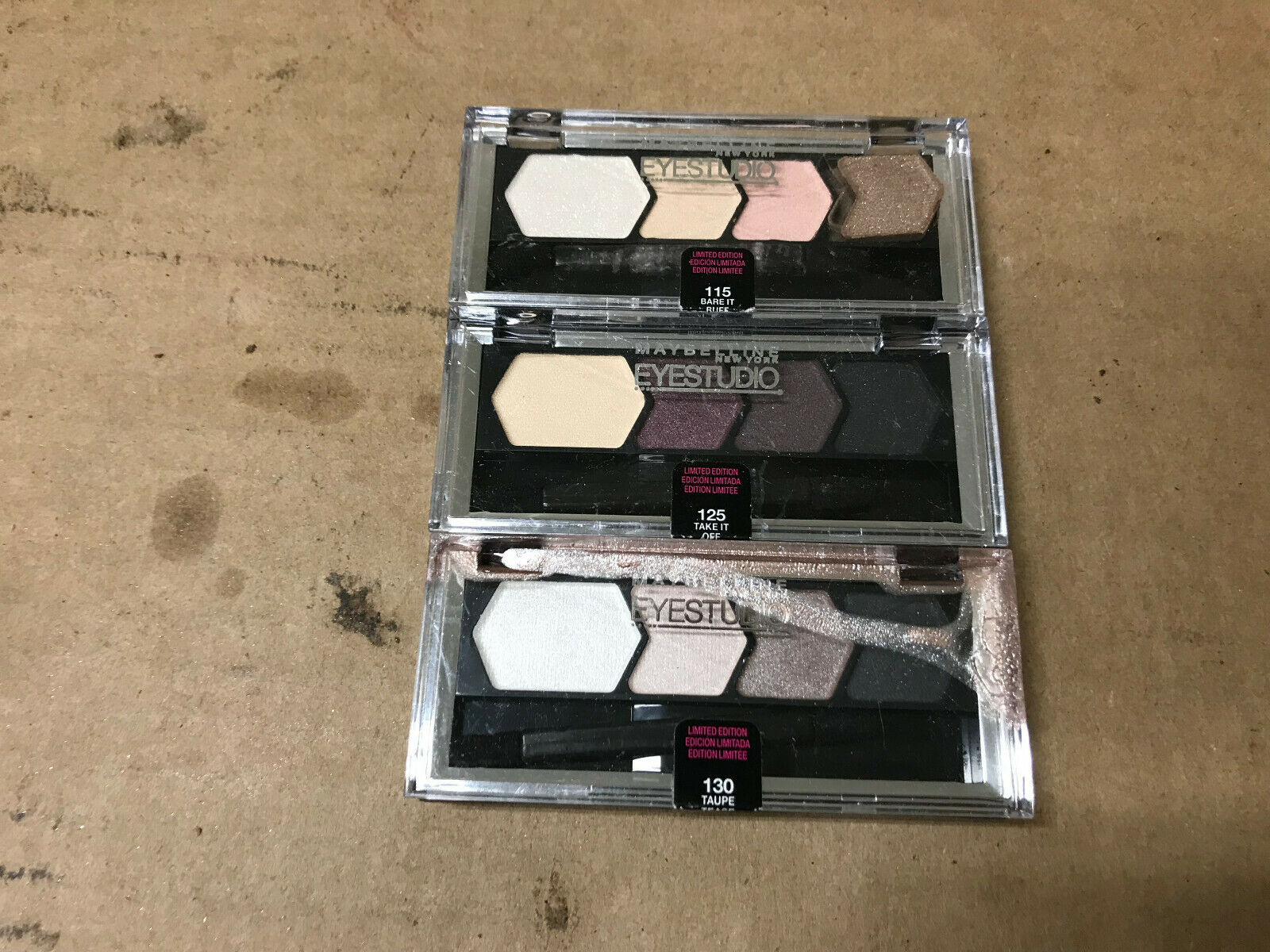 MAYBELLINE Eye Studio / Color Plush Silk Eye Shadow Quad CHO