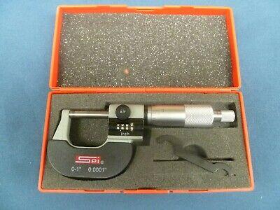 Spi 13-795-0 Digit Outside Micrometer 0-1 Range - .0001 Accuracy