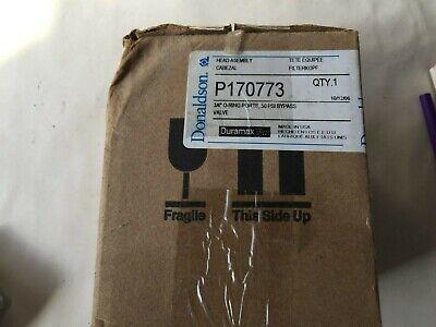 New Donaldson P170773 Filter Assembly Head Hmk03 34 O-ring Ports 50 Psi Valve
