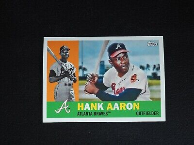 2017 Topps Archives Hank Aaron Photo Image Variation Short Print SP -