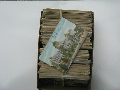 500++ POSTCARDS HUGE LOT UNITED STATES STANDARD EARLY 1900s AND AFTER