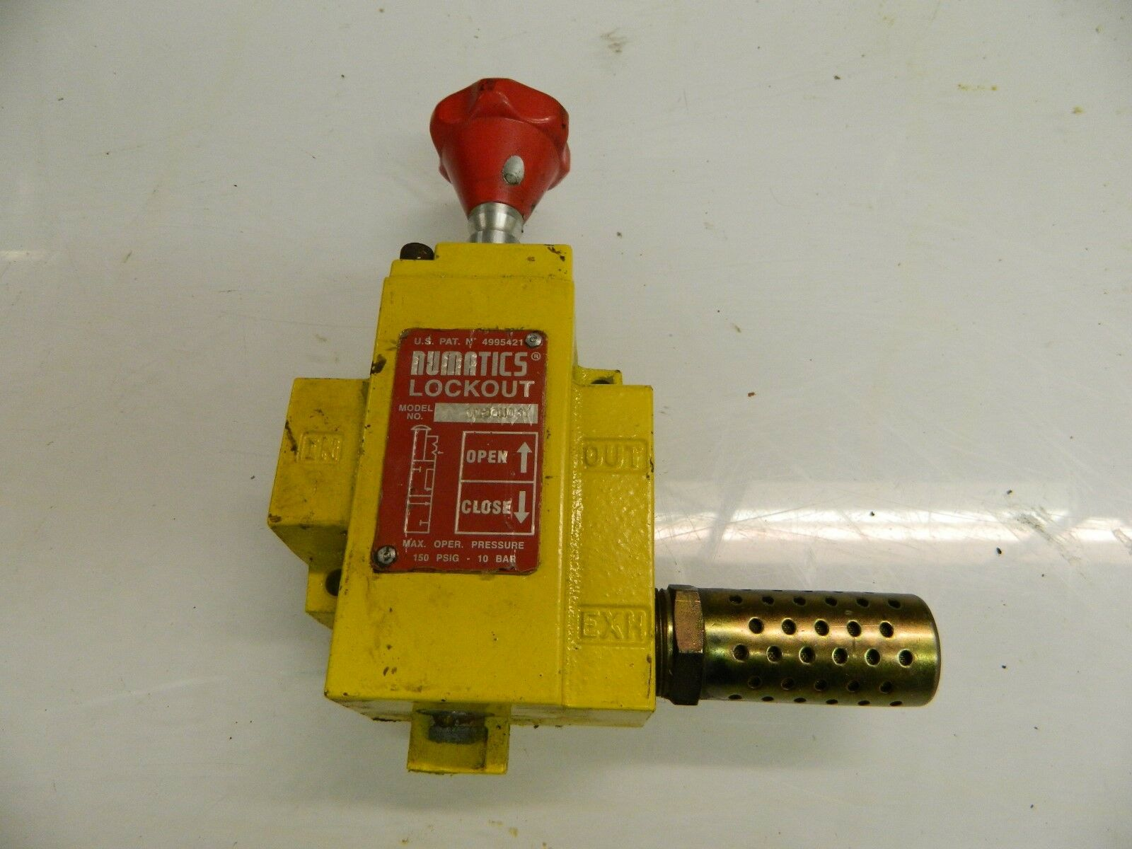 Numatics VL30N06Y Lockout Valve Air Pneumatic 3/4