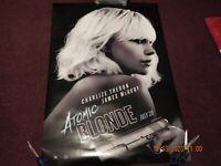 ATOMIC BLONDE Movie PHOTO Print POSTER Film Charlize Theron IMAX Textless 005