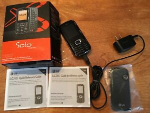 Cellulaire cell phone mobile LG as new