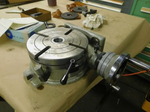 "Yantai T13 200B 8.0"" Rotary Table with Indexing Dividing Attachment"