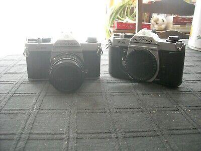 appareil photo asahi pentax k1000 et KM