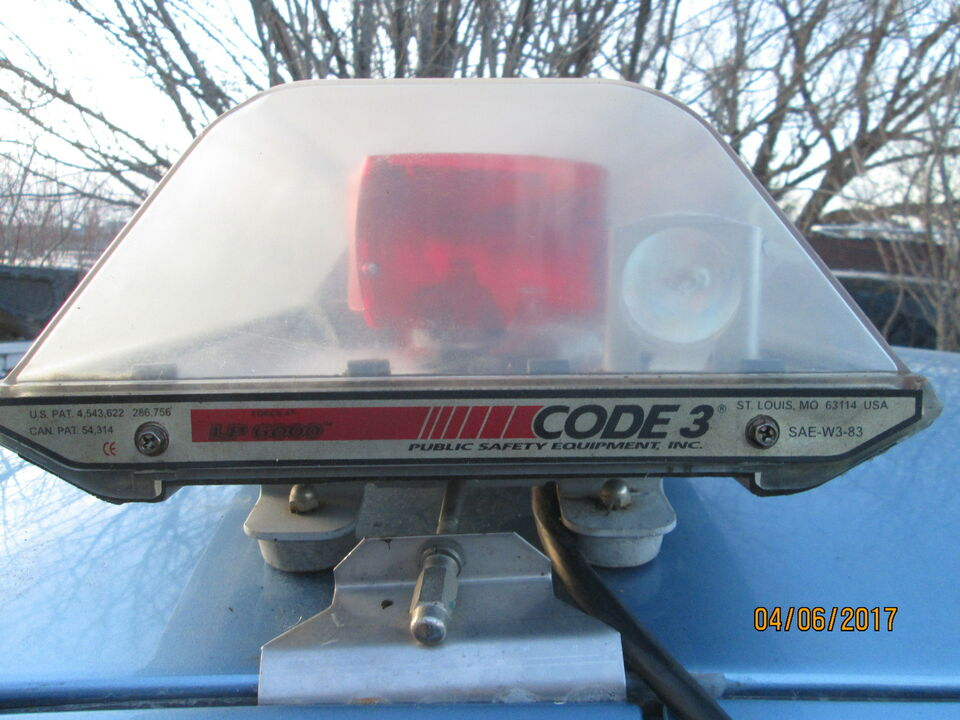 Used Cars For Sale In Winnipeg >> Emergency Flashing Light Bar CODE 3 LP- 6000 For Sale | Other Parts & Accessories | Winnipeg ...