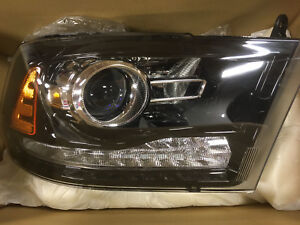 2013-2016 Dodge RAM Headlamp NEW Projector Halogen