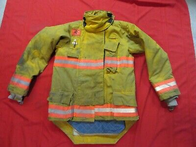2007 Morning Pride Drd 38 X 34.5 Firefighter Turnout Jacket Coat Bunker