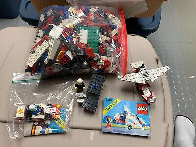 LEGO Vintage 1980's Town City Partial Sets Lot 6366 6676 6682 720 W/ Minifigures