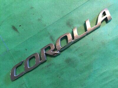 TOYOTA OEM 03-08 Corolla Trunk Lid-Emblem Badge Nameplate 7544202070