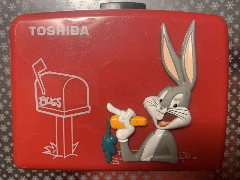 Bugs Bunny Cassette Walkman TOSHIBA LOONEY TUNES TRONICKS Warner Cartoon F/S