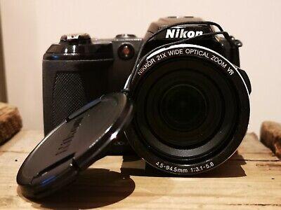 Nikon COOLPIX L120 14.1MP Digitalkamera - Schwarz, gebraucht. online kaufen