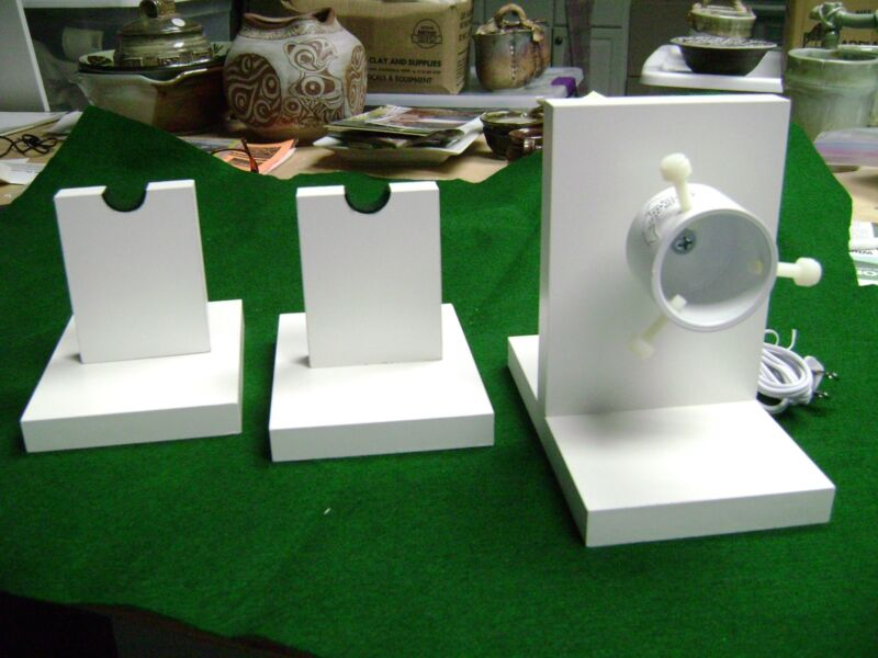 5-6  RPM- ROD DRYING-DRYER  MOTOR  KIT with 2 support stands