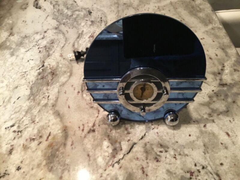 crosley cr 81 8in mini sparton bluebird radio