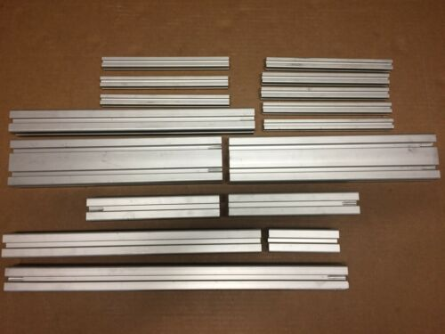 Lot of 8020 16pc Total 20mm x 20mm, 40mm x 40mm, 40mm x 80mm