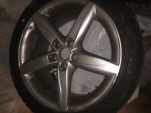 245/40r18 tires with 18inch oem audi mags