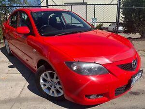 2006 Mazda 3 MAXX SPORT BK MY06 Upgrade Manual Sedan REGO AND RWC INCL Moorabbin Kingston Area Preview