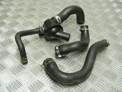 <em>YAMAHA</em> XSR 900 XSR900 MTM850 ABS 2016 THERMOSTAT  HOUSING  HOSES 28