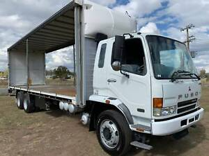 Mitsubishi Fuso FN14 6x4 14 Pallet Tautliner/Curtainsider Truck. Inverell Inverell Area Preview