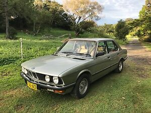 1982 BMW 528i Sedan Manual Mullumbimby Byron Area Preview