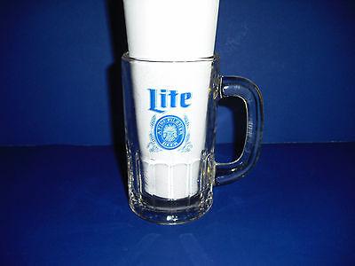 Collectible Miller Lite glass beer mug 10 ounce