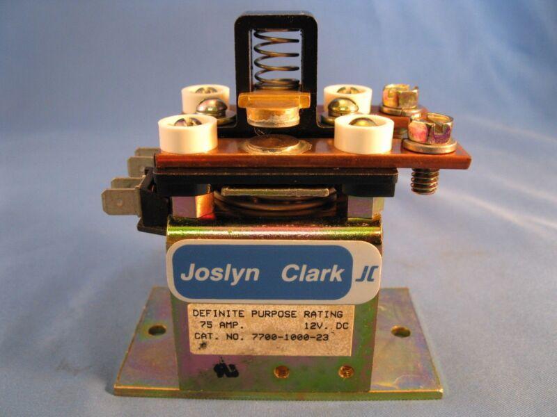 Joslyn Clark Contactor 7700-1000-23 75 amps