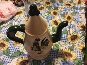 Fancy coffee pot  $22.