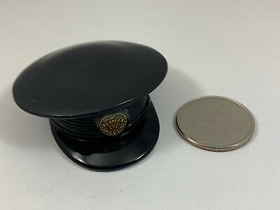 Hasbro GI Joe POLICE OFFICER BLACK HAT 1/6 Scale LOOSE RARE Figure Accessory
