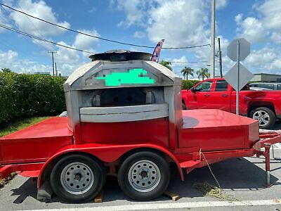 Lightly Used 2015 - 8.1 X 12.2 Wood-fired Pizza Trailer For Sale In Florida